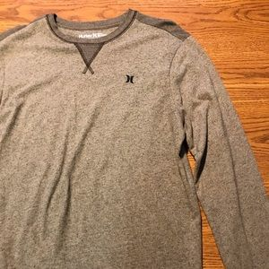 Hurley long sleeve shirt